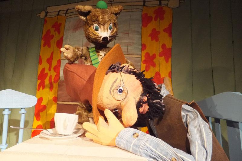 Puppenspiel Petterson und Findus